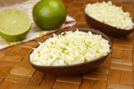Ovo de Colher Mousse de Limão