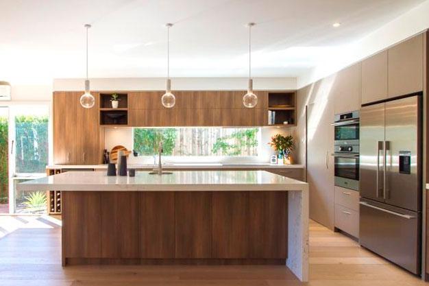 Ilha central: essa tendência de decoração vai dar um toque de elegância na sua cozinha.